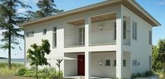 บ้าน 2 ชั้นโปร่งโล่งทันสมัยสไตล์ยุโรป เน้นความเรียบง่ายแต่หรูหรา พร้อมแบบแปลน