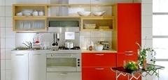 20 การตกแต่งห้องครัวที่มีขนาดเล็ก